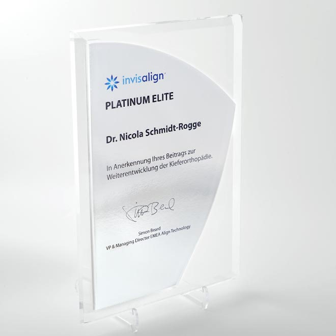 Invisalign Platinum Elite-Status
